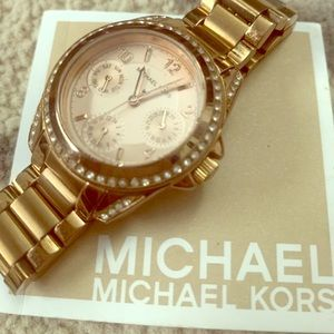 Michael Kors Chronograph Rose Gold Watch